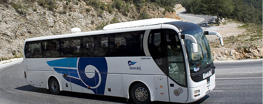 Kamil  koc bus company, Turkey reliable bus company