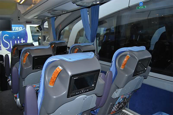 seats on the buses