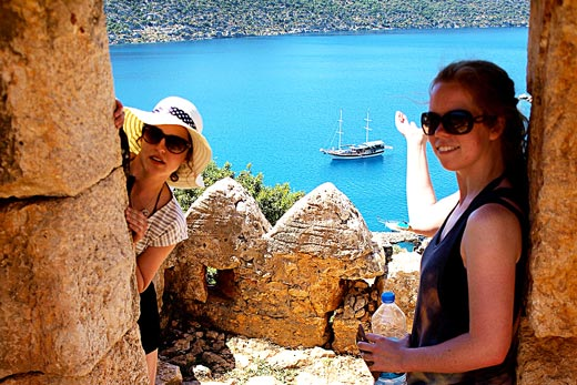 Simena Castle Blue Cruises