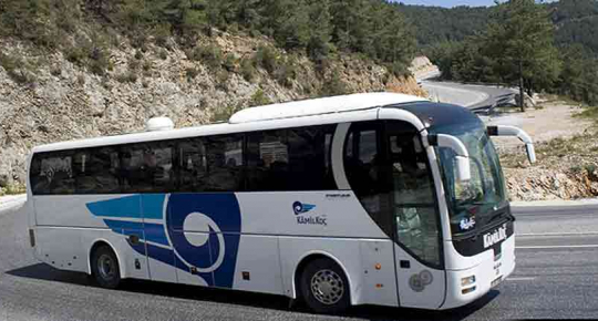 Bus travel services in turkey