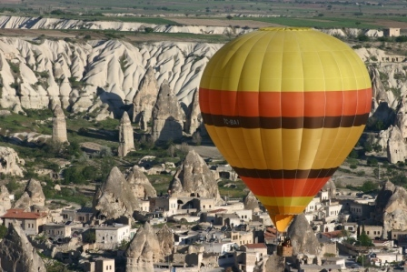 Hot air balloon from Goreme