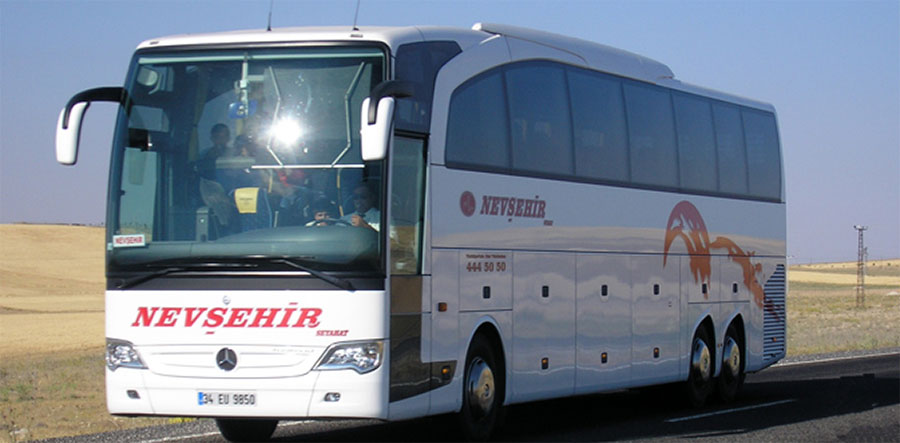 nevsehir turizm bus ticket